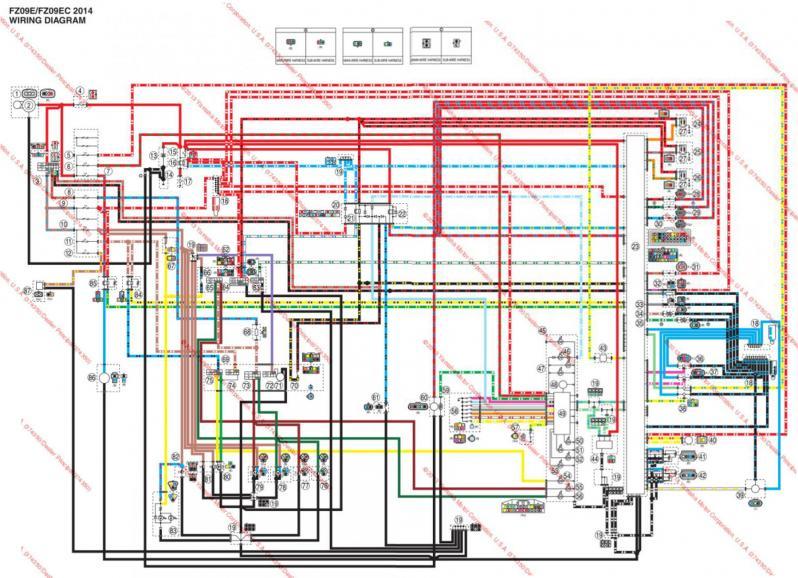 Yamaha Fz 600 Wiring Diagram Wiring Diagram