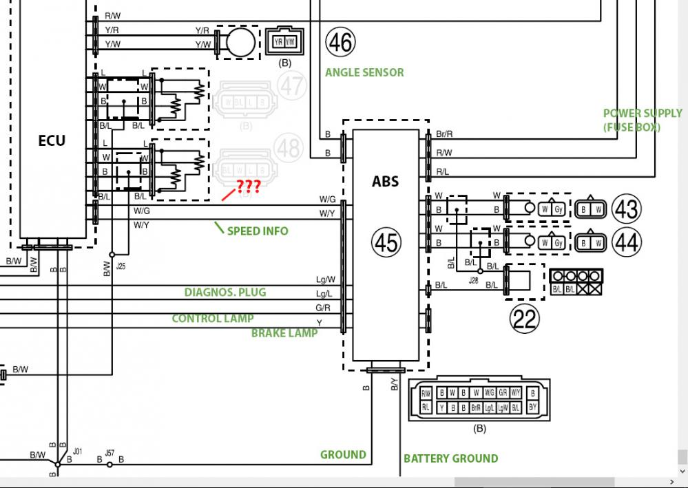 Abs Wiring Diagram - Wiring Data Diagram