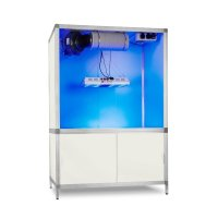 komplette Growbox mit LED-Wachstumslampe