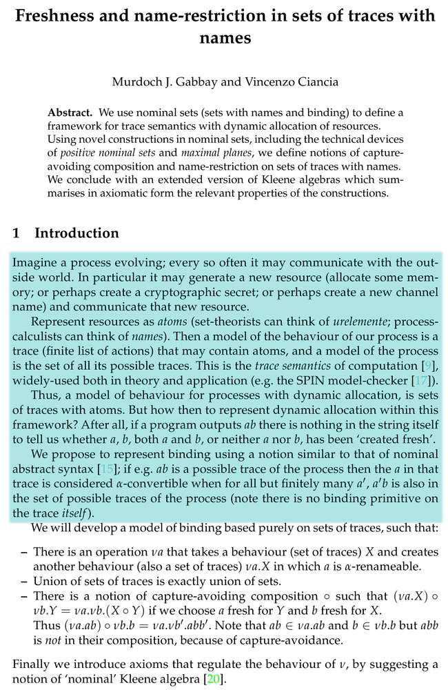 Notes on academic writing
