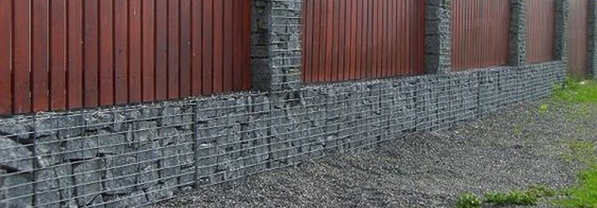 Gabion Fences and Stone Walls Rock fence design USA
