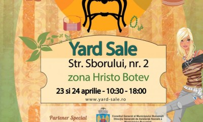 Yard Sale 23 & 24 aprilie
