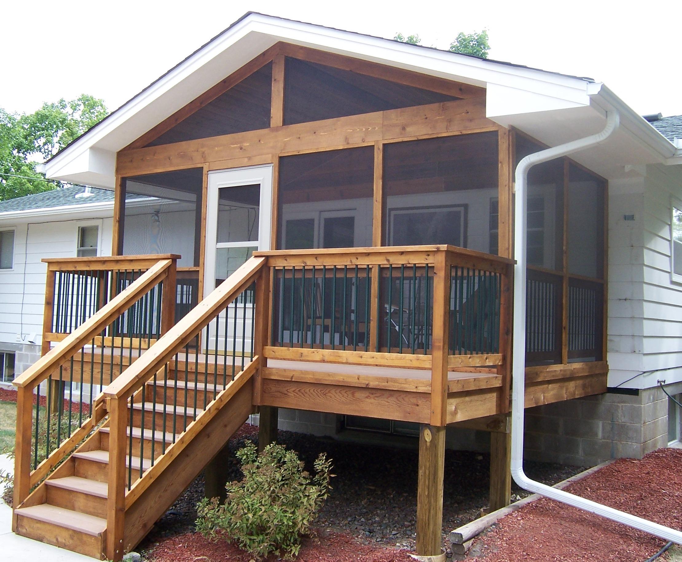 16 Small Decks And Porches Ideas Architecture Plans 6917