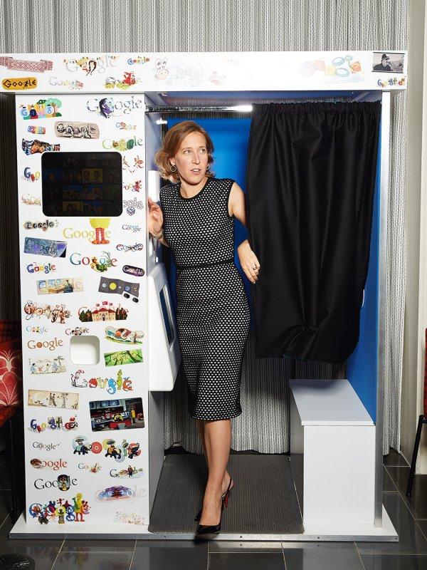 YouTube CEO, Susan Wojcicki for Advertising Age magazine.