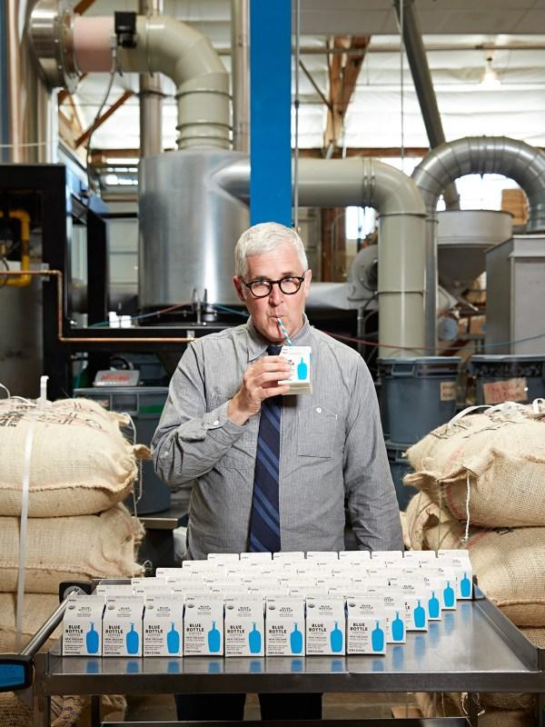 James Freeman of Blue Bottle for Imbibe magazine.