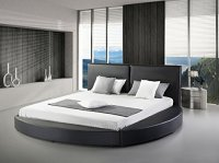 Luxurious Round Leather Beds for Sale!