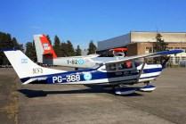Cessna 182 de la V Brigada Aérea y DHC-6 Twin Otter de la IX Brigada Aérea (foto: Mauricio Chiófalo).