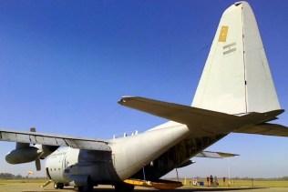 KC-130H Hercules de la I Brigada Aérea (foto: Esteban Brea).