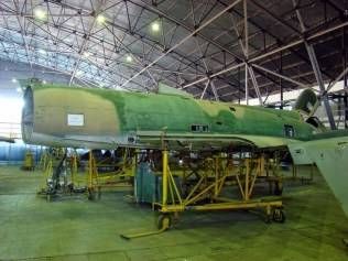 El Finger IIIA C-411 descansando en paz (foto: Emmanuel Tula).