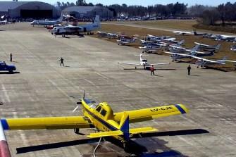 Perspectiva del evento del fin de semana, visto desde la torre de control (foto: Mauricio Chiófalo).