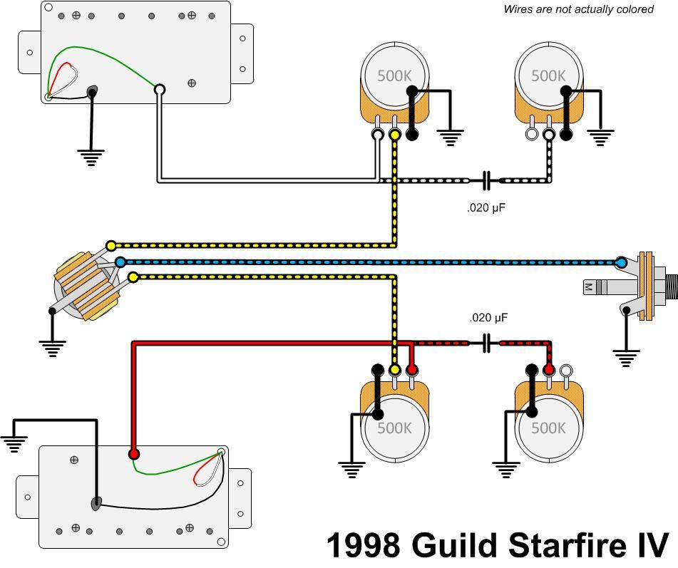 Guild Guitar Wiring Diagram Wiring Diagram Library