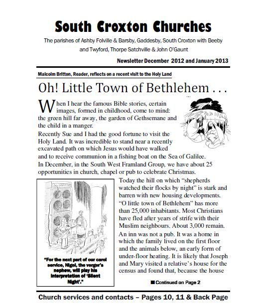 Church Newsletter Church Newsletter Content Examples How To Make A - church newsletter