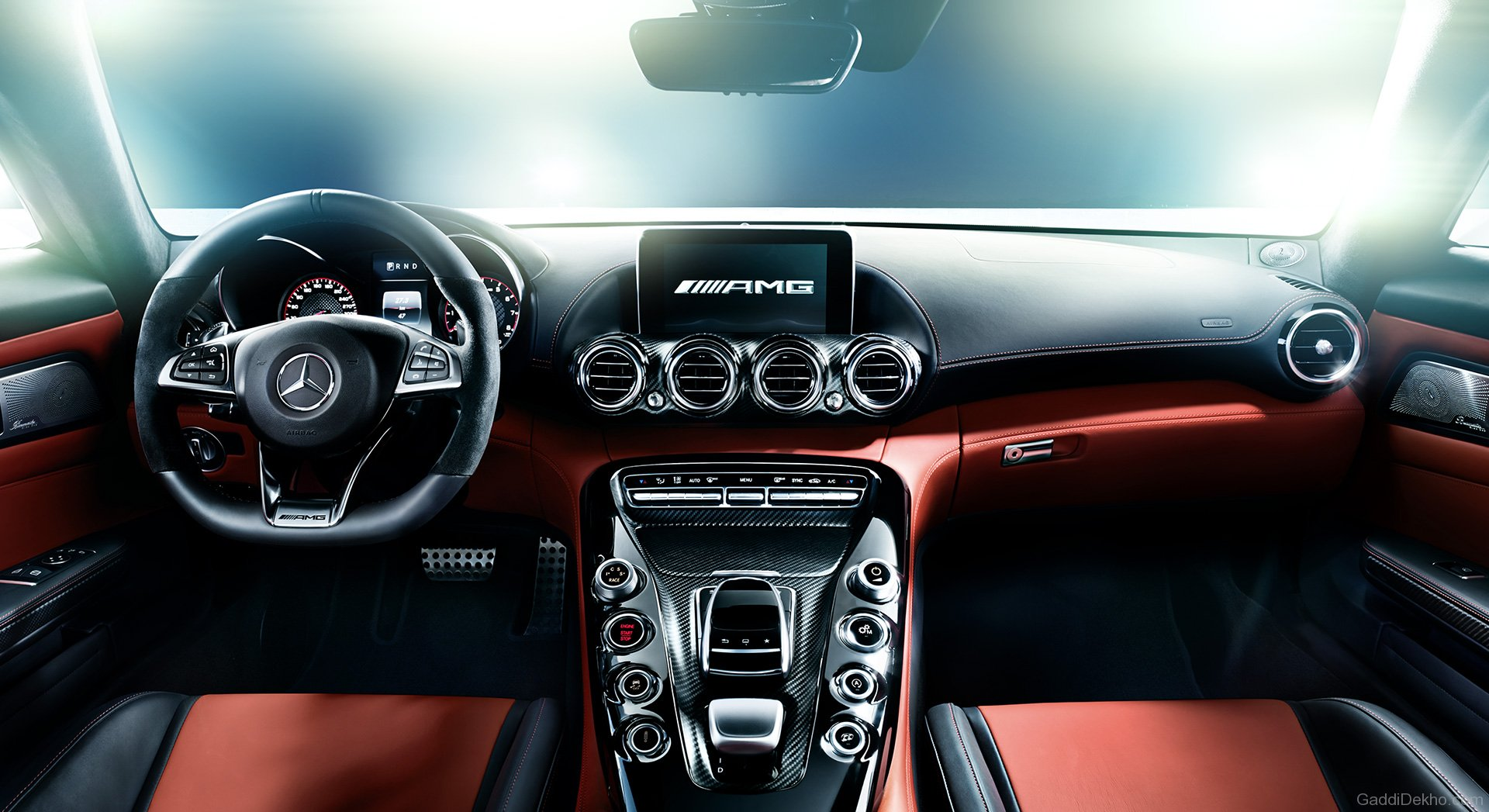 Cockpit Hd Wallpaper Mercedes Benz Amg Gt Car Pictures Images Gaddidekho Com