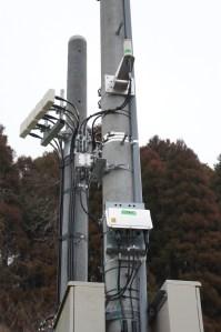 AC32CV長柄高山RK基地実験アンテナ群