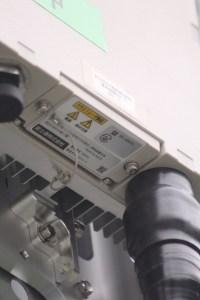 BS-3201形F 3.5G SRE銘板