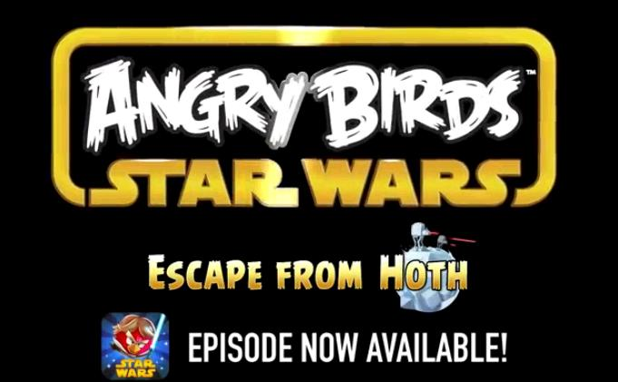 update joc angry birds star wars escape from hoth