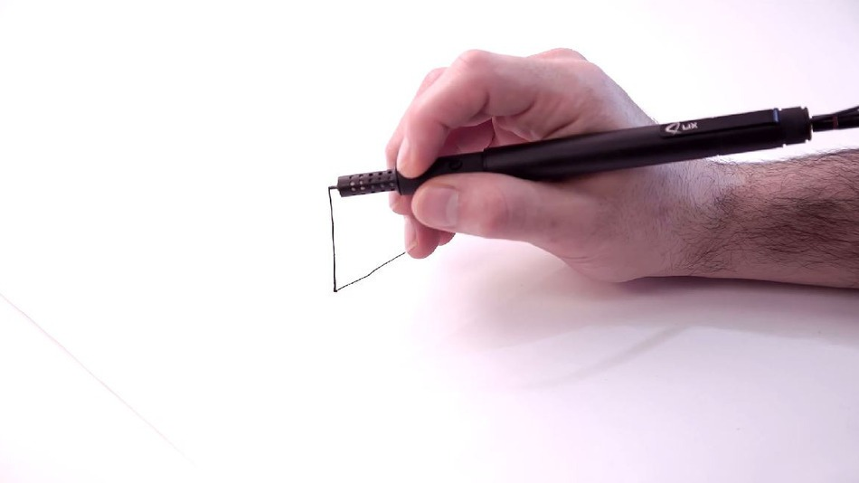 Lix: World's smallest 3D-printing pen