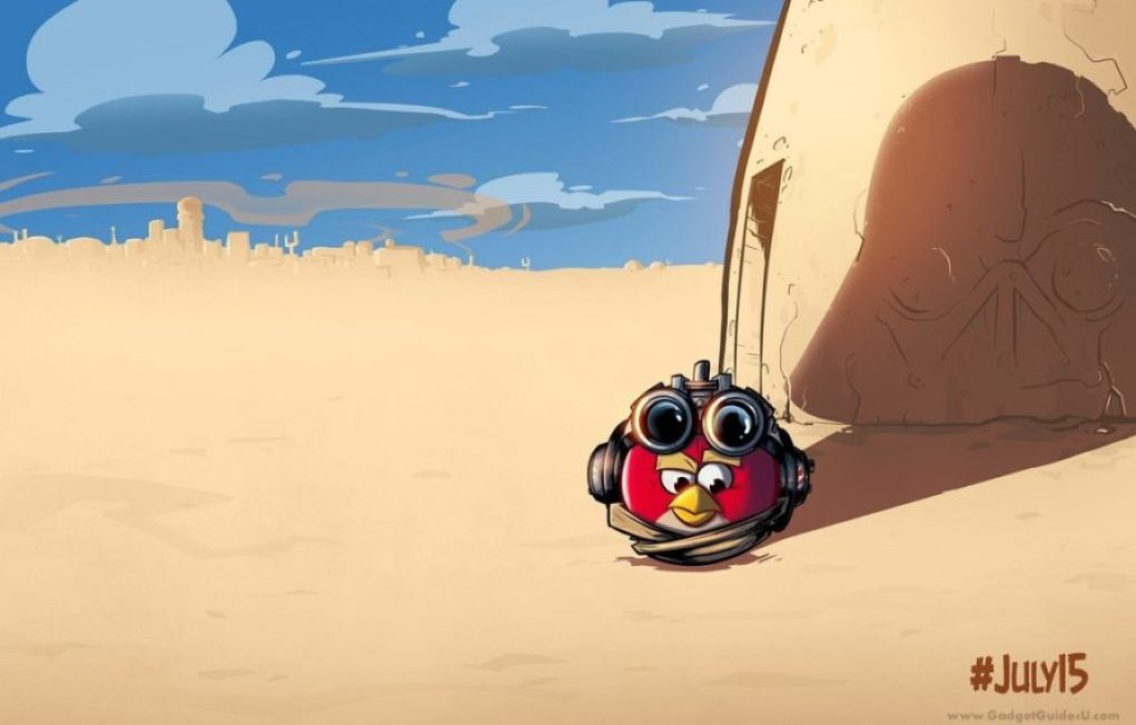 Brand new angry birds game