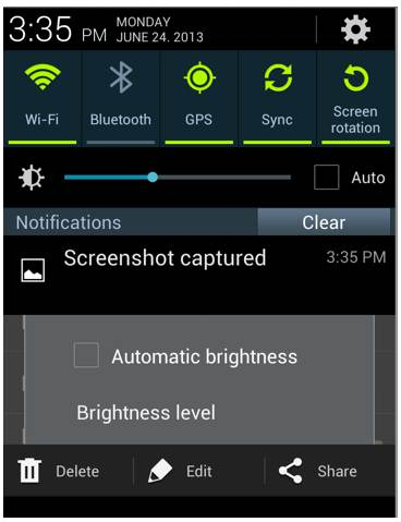 Automatic Brightness in Android