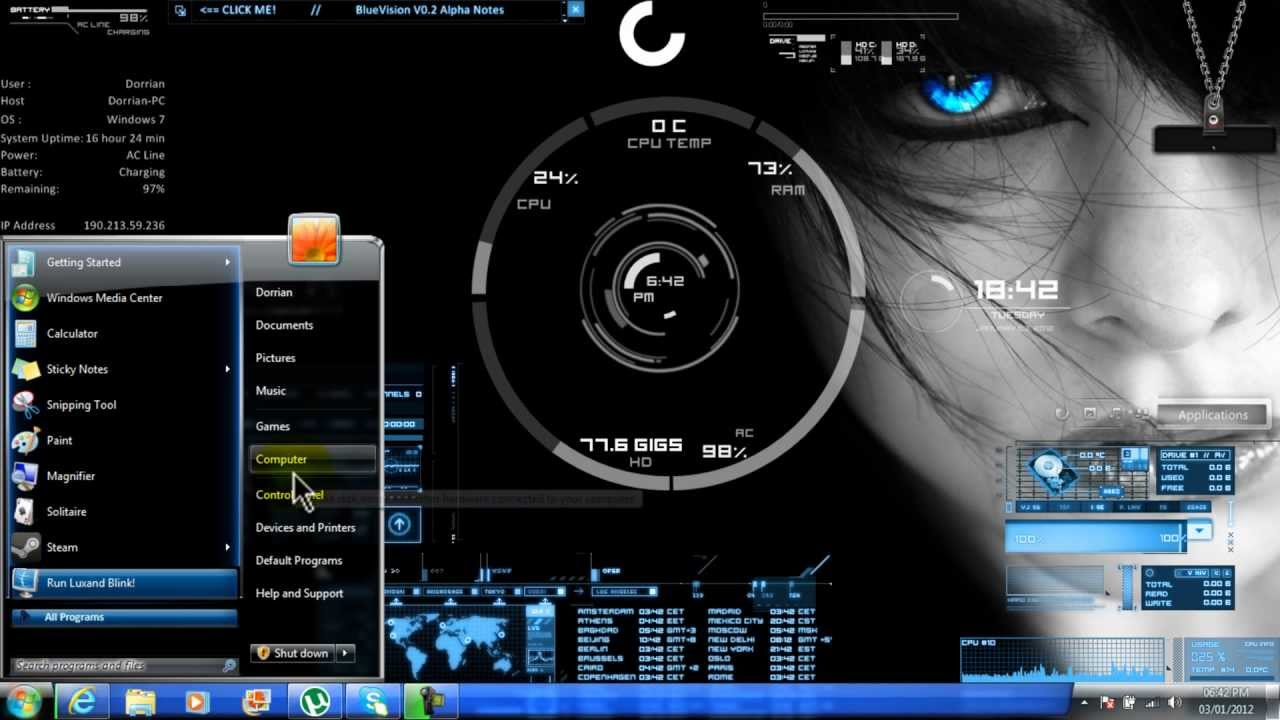 Wallpaper Chelsea 3d Android Windows 7 Themes Free Download Gadget Gyani
