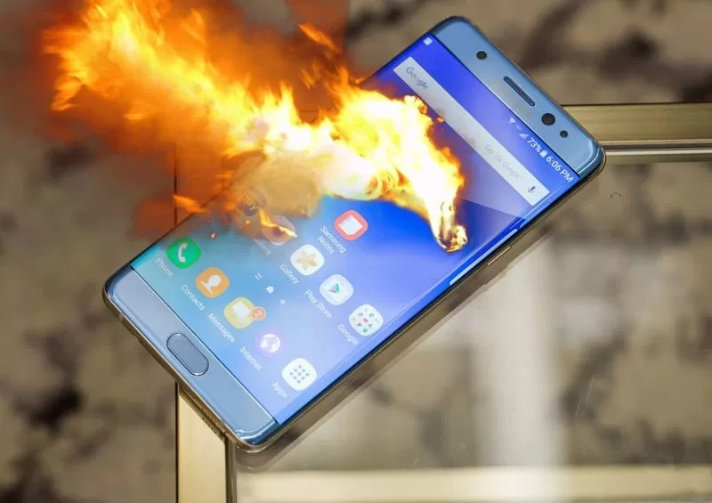 Here what went wrong with Samsung Galaxy Note 7 that cause such massive fire in handset