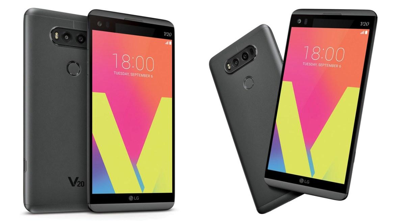 LG V20 spread