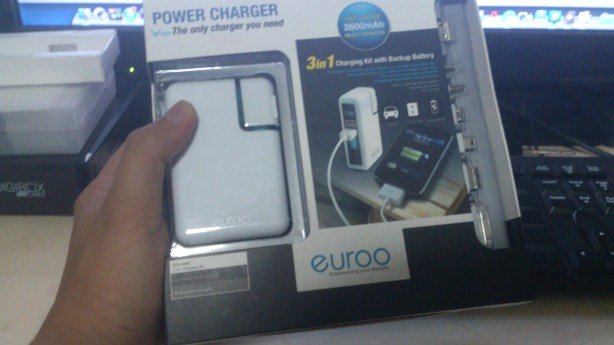Euroo 3-in-1 Charging Kit, Charging Kit, Power Charge, Euroo