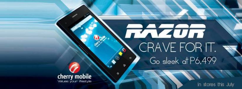 Cherry Mobile Razor Price