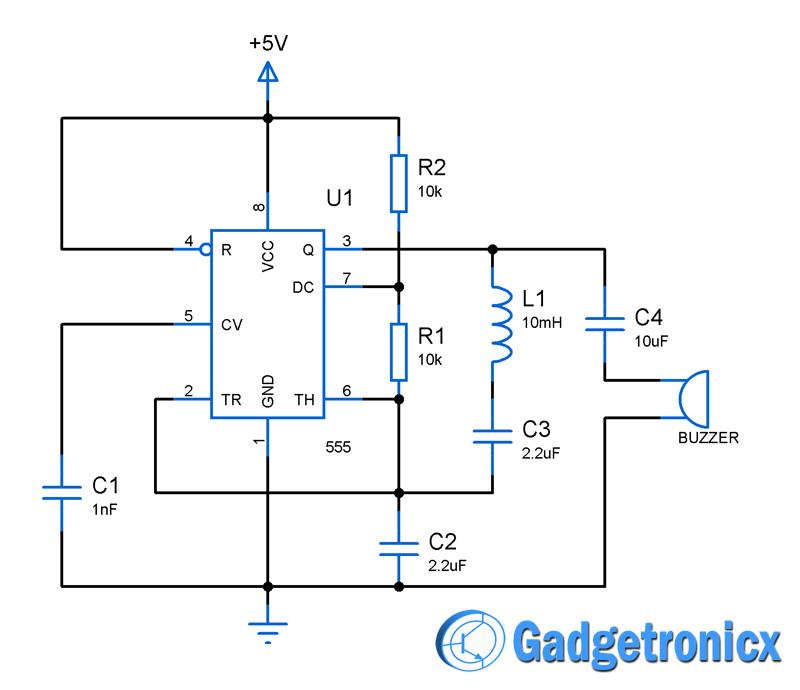 Simple Water Sensor #Circuit Diagram using IC 555 Electrical - p amp amp l statement template