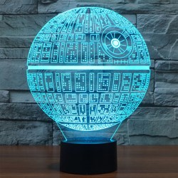 Small Crop Of Star Wars Night Light