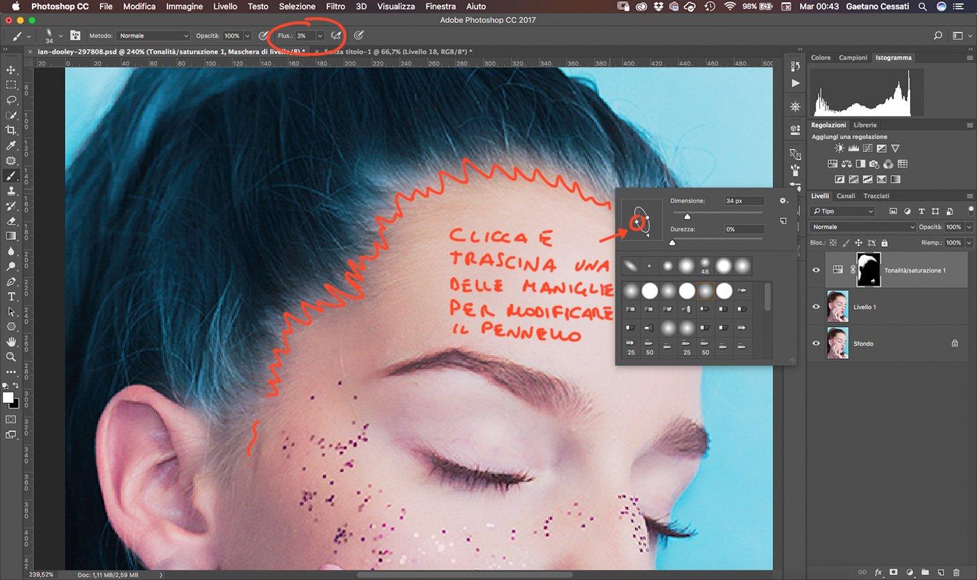 √ Come cambiare il colore dei capelli con Photoshop 6c3df387432d