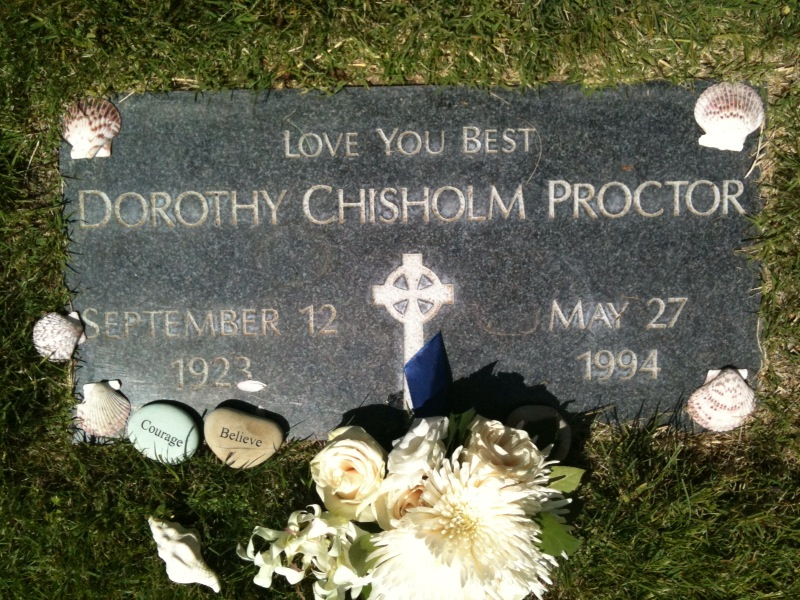 Dorothy Chisholm Proctor, Love You Best