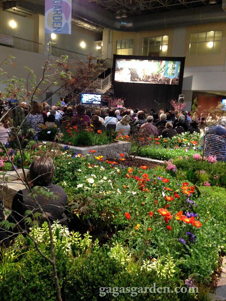 Gaga 39 S Garden Vignette One The Chicago Flower And Garden Show S Appeal Of John Gidding