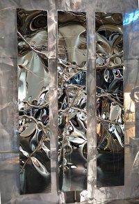 Stainless Steel Metal Artwork | Wall Art Sculpture | GAHR