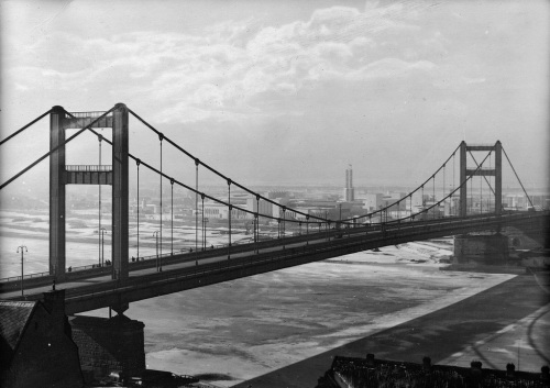 Most kralja Aleksandra u Beogradu 1936