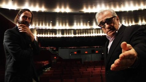 Keanu Reeves i Martin Scorsese Side-by-Side - © 2012 - Company Films LLC. All rights reserved.