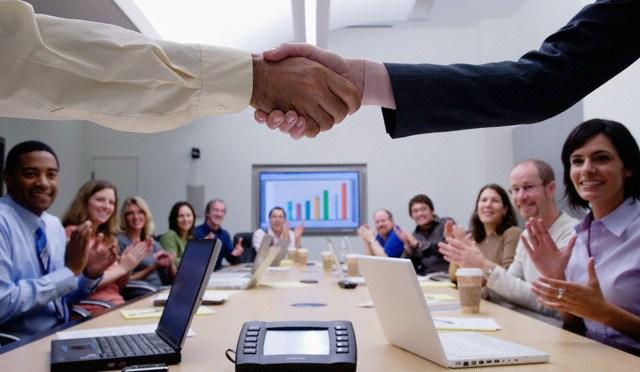 Uspešan poslovni sastanak