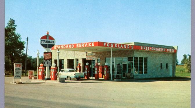 Fosslandova Standardna pumpa na putu (1956) - Allen via Flickr (CC BY-NC 2.0)