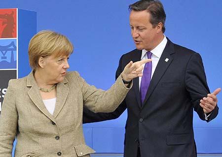 David Cameron 02 Angela Merkel