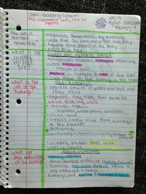 AVID / Cornell Notes - cornell note