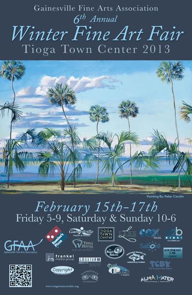 Winter Fine Art Fair at Tioga Town Center