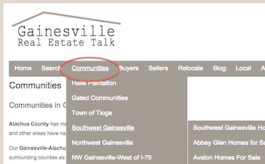 Gainesville Neighborhoods Home Search