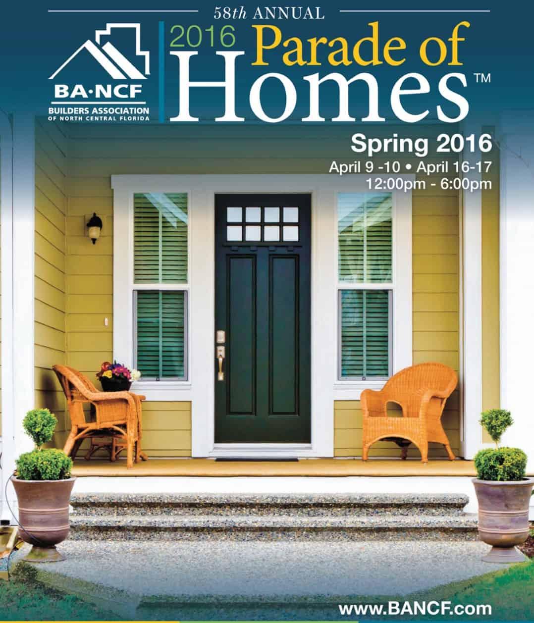 2016 Spring Parade of Homes