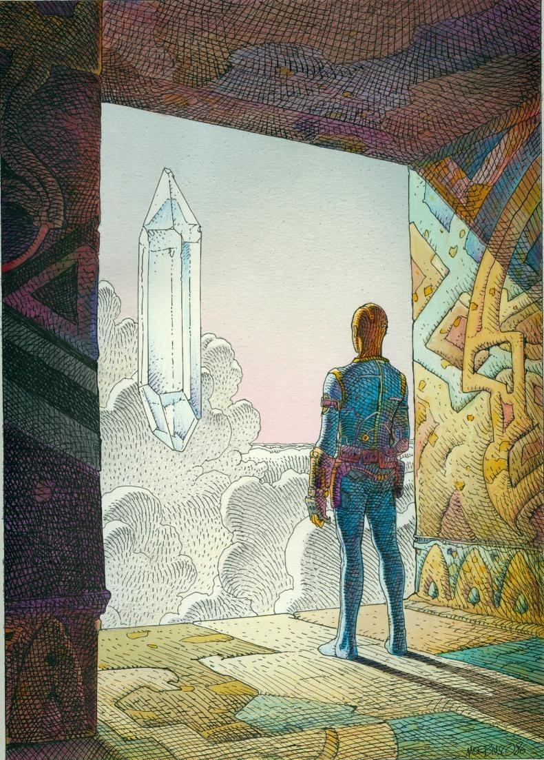 Time Wallpaper Quotes Jean Giraud Moebius Galactic Resonance