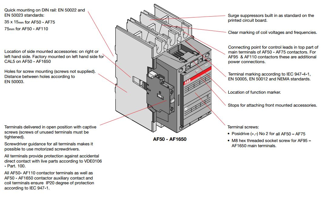 single pole contactor wiring diagram
