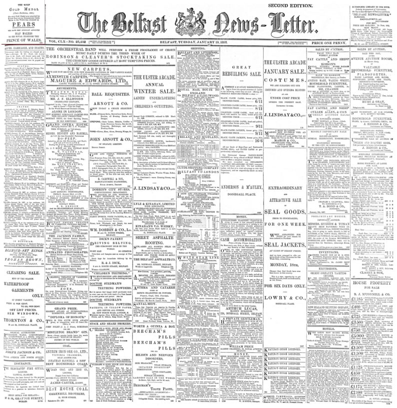 British Library Newspapers Part I 1800-1900