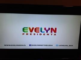 Imagen spot publicitario Evelyn Matthei