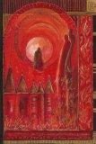 petite chanson d'amour 1 acryl op papier op paneel 30 x 20 cm (1)
