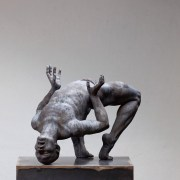 CODERCH & MALAVIA, Revive (butoh), Bronze, 49x34x30 cm