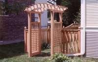 Garden Arbor Designs Plans DIY Free Download Flower Box ...